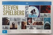 STEVEN SPIELBERG 8 MOVIE DIRECTOR'S COLLECTION Blu-Ray oz seller SEALED
