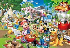 "Jigsaw Puzzle Disney ""Auto camp!"" 1000p Tenyo D1000-026 New May 2018"