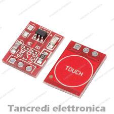Interruttore capacitivo TTP223 touch button switch sensore (Arduino-Compatibile)