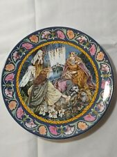 "Wedgwood The Legend Of King Arthur 9"" Plate ""Arthur Is Taken To Avalon"""