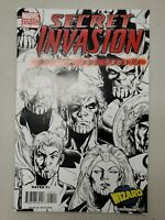 Secret Invasion No 1 Who Do You Trust? One Shot Wizard Variant Edition Aug 2008
