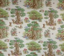 WAVERLY BEAR NECESSITIES GUMDROP TOILE CURTAIN UPHOLSTERY FABRIC BY THE YARD