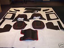 Austin Healey 100-4 BN1 BN2 & LeMans Leather Interior Choose Your Color / Piping
