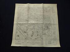 Landkarte Meßtischblatt 4150 Burg im Spreewald, Leipe, Raddusch, Müschen, 1945