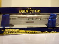 AMERICAN FLYER LIONEL S GAUGE 6-48977 PENNSYLVANIA ILLUMINATED DINING CAR.