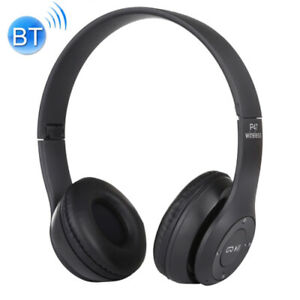 P47 FOLDABLE WIRELESS Bluetooth With 3.5mm Audio Jack Support Mp3 Fm Headphone