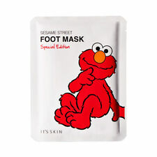 [IT'S SKIN] Sesame Street Foot Mask Special Edition 1ea NEW - Korea Cosmetics