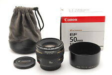 [Mint in Box] Canon EF 50mm f/1.4 USM + ES-71II Hood From Japan #815