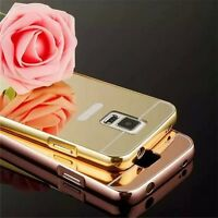 Ultra-thin Luxury Mirror Metal Case Cover Aluminum for Samsung Galaxy S6,S7 Edge
