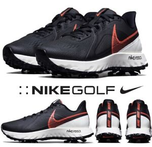 NEW Nike React Infinity Pro Golf Shoes Size 10 WIDE Black Red White CT6621-002