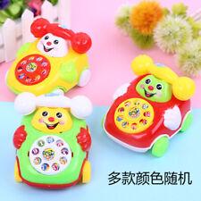 Baby Toys Music Cartoon Phone Educational Developmental Boys Gift Fun Good