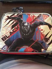 Marvel Black Panther Soft Lunch Box Kit Tote Insulated