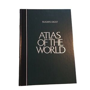 Reader's Digest Atlas Of The World with Rand McNally Maps 1990 Version