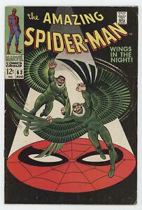 Amazing Spider-Man 63 Marvel 1968 FN Vulture Stan Lee John Romita