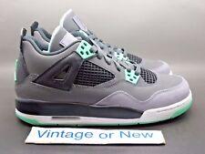 Nike Air Jordan IV 4 Green Glow Retro GS 2013 sz 6Y
