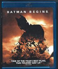 Batman Begins (Blu-ray Disc, 2008) Christopher Nolan/ Christian Bale