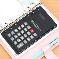 Solar Power Calculator 8 Digital Ultra-thin Ruler Function Portable Kid  AU AU