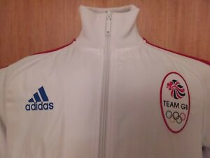 """ADIDAS tracksuit Top Official Team GB 2012 Olympics Size M 40-42"""""""