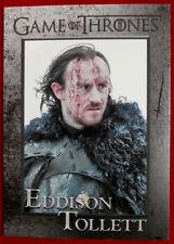 GAME OF THRONES - Season 4 - Card #90 EDDISON TOLLETT - Rittenhouse 2015