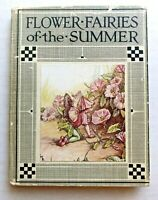 1930's Flower Fairies of the Summer Book by Cicely Mary Barker -- Great Pictures