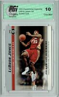 LeBron James 2003 PHENOM Card 7 Upper Deck Set PGI 10 Rookie