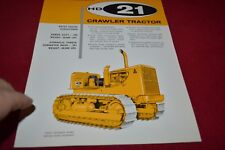 Allis Chalmers HD-21 Crawler Tractor Dealer's Brochure YABE14 vr3