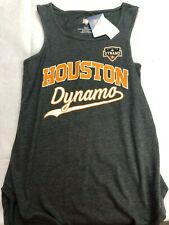 MLS Houston Dynamo Women's Logo Tank Top - Gray - Various Sizes - C355