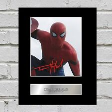 Tom Holland Signed Mounted Photo Display Spider-Man #2