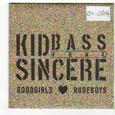 (FS213) Kid Bass ft Sincere, Goodgirls Love Rudeboys - 2009 DJ CD
