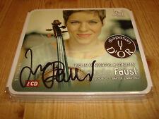 Isabelle Faust Violin Concertos & Sonatas Harmonia Mundi 2cd signed signé