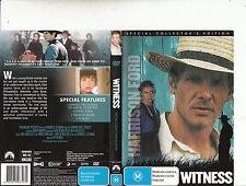 Witness-1985-Harrison Ford-Movie-DVD