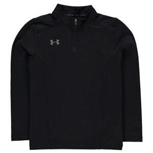 Under Armour Challenger Black Zip Top Junior Boys New (Sizes From 7-13 Yrs)