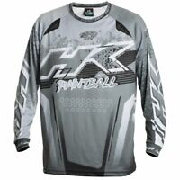 New HK Army Paintball Retro Playing Jersey - Slate Grey - Large L