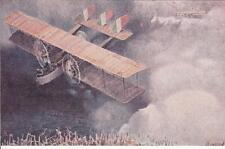 8070) WW1 AVIAZIONE, ALI D'ITALIA, VOLO DI UN CAPRONI CA 32.