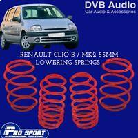 Renault Clio Mk2 1.1 98-05 LOWERING SPRINGS 40mm **REARS**