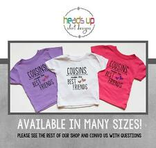 Cousins Best Friends Shirts - Toddler Girl Cousins Make the Best Friends tshirts
