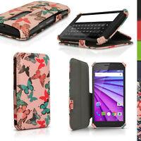 Cuir PU Etui Flip Housse pour Motorola Moto G 3ème Gen XT1540 Coque Case Cover