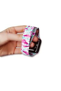 Watercolor Lilly Pulitzer Magnetic Apple Watch Band All series 38/40/42/44mm