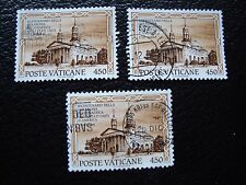 VATICAN - timbre yvert et tellier n° 864 x3 obl (A28) stamp
