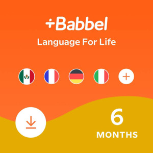 Babbel: Learn A New Language – Choose From 14 Languages Including French, Span