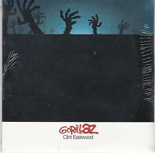 "CD CARTONNE CARDSLEEVE COLLECTOR 1T  GORILLAZ "" CLINT EASTWOOD ""2001 NEUF SCELLE"