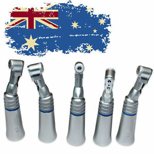 5X Dental NSK Style Slow Speed Contra Angle Latch Bur E-type Handpiece New