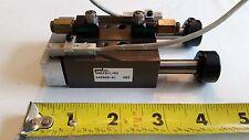PHD SA033X1-R2 Pneumatic Linear Slide Actuator Dual Rod w/sensors *warranty*