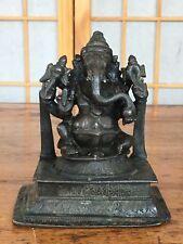 antique sitting bronze Ganesh India vijayanagara period 14 century