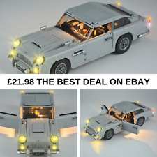 LED Light Kit For Lego 10262 & 21046 Aston Martin DB5 James Bond Lighting bricks