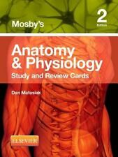 Mosby's Anatomy and Physiology Study and Review Cards by Dan Matusiak (2013, Ca…