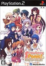 Used PS2  Strawberry Panic ! SONY PLAYSTATION JAPAN IMPORT