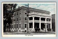 Greene NY, The Sherwood Hotel, Vintage New York c1920 Postcard