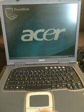 Acer Travelmate 650 - Fully Working but no battery - Rare/Collectors Item!