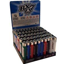 50x BIC Feuerzeuge BX7 Reibrad Einweg Feuerzeug mit Kindersicherung Lighter